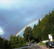 Double rainbow by sstarlightss