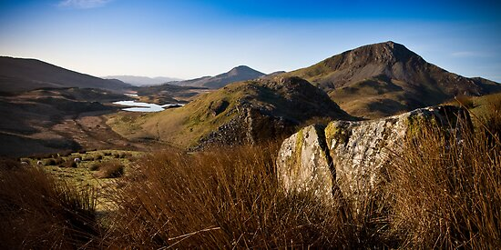Snowdonia II by Andrew Briggs