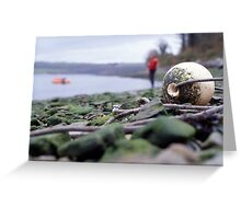 Oh bouy! Greeting Card