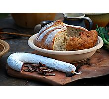 Medieval Snack Photographic Print