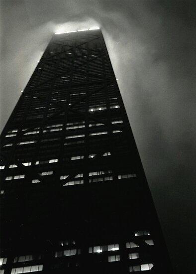 John Hancock Building Chicago Illinois by Michelle Calkins