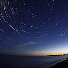 Headland Star Trails by unozig