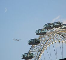 London 'Eye'  by Sandra Mangnall