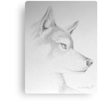Wolf's Head Canvas Print