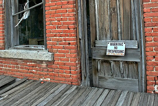 No Trespassing by Arla M. Ruggles