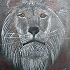 Big Cat Daddy Lion by janetmarston