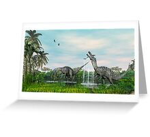 Fishing on a Sunday Afternoon. Greeting Card