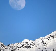 Wasatch Moonrise by Ryan Houston