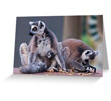 Family Breakfast Greeting Card