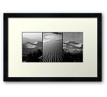 Sensual Lines Framed Print