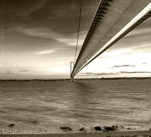 Humber Bridge by Martyn Coupland