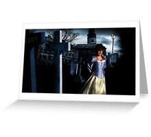 I used to be Snow White but I drifted...! Greeting Card