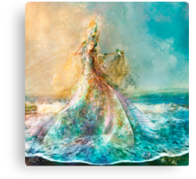 The Shell Maiden Canvas Print