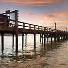 Pier sunset by Andrew Howson