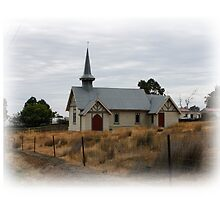 St George Anglian Church Parattah Tasmania 1903 by PaulWJewell