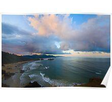 Sunrise on Cannon Beach Poster