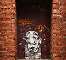 Slightly Glum Doorway by daveoh