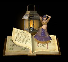 Pages turn .. the gypsy witch by LoneAngel