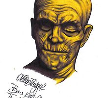 Boris Karloff as The Mummy by AlischaTrigger