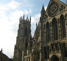 York Minster in April 2009 by blueclover