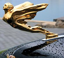 "Cadillac ""Golden Goddess"" [Vintage Hood Ornaments 2008] by Dominic R. Sondy"