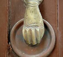 Old door knocker by Margarita K
