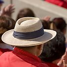 Hat Series - Man Protecting Himself From the Sun by Buckwhite