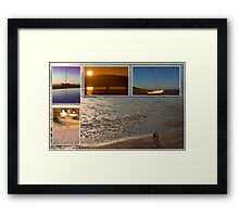 West Kirby at Sunset Framed Print