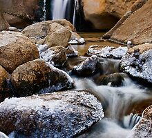 Icy Buttermilk Falls by Nolan Nitschke