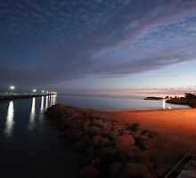 BEACHPORT TWILIGHT by Paul Cavanagh