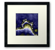 Mount Thadeus at Midnight Framed Print