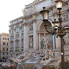 La Fontana di Trevi, Roma by Kymbo