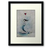 The simple things make my heart sing Framed Print