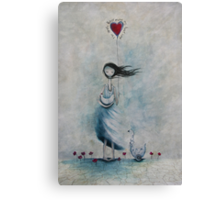 The simple things make my heart sing Canvas Print