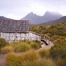 Cradle Mt and boat shack -  in another mood (Tasmania) by gaylene
