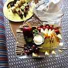 Cheese and Fruits Platter by terrebo