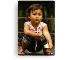 Bali Girl  Canvas Print