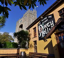 Bunratty Castle and Durty Nelly's Pub , County Clare, Ireland by upthebanner