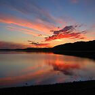 Sunset on Loch Melfort by Bondbloke