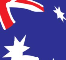 Aussie Flag Sticker
