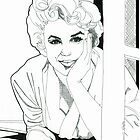 Soft Marilyn by Donna L. Faber