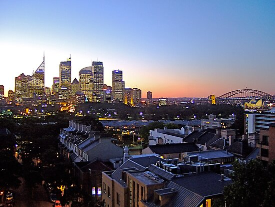 Sydney Skyline at dusk! by Jonathan Jones