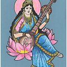 Saraswati Ma! by Donna L. Faber