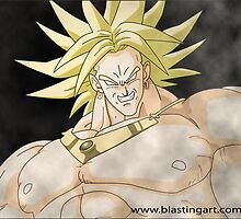 Broly 300 Movie Style Sepia effects by Ayaz Malik
