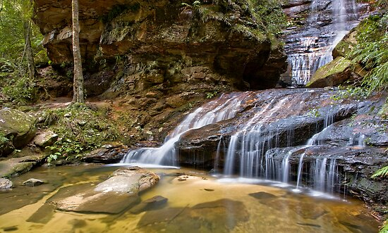 Empress Falls, Valley of the Waters. by Andrew Bosman