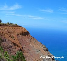 Napali Coast Trail Against Blue Sky by LenaHunt