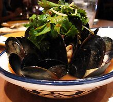Mussles by Heather Blacklock
