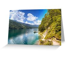 Weissensee Greeting Card