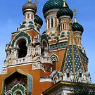 Gorgeous Russian church by daffodil