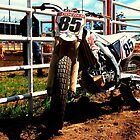 Crf450 Dirt Track bike by Justin Emery